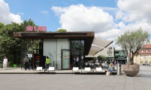 Restaurant Olio e pane im Outlet City in Metzingen
